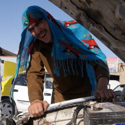 The Afghan Lady Cab
